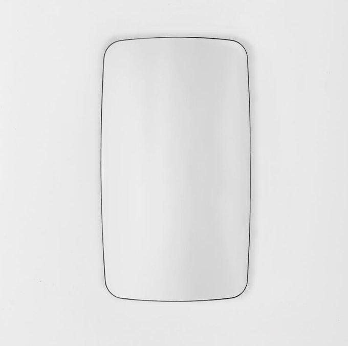 Скруглённое настенное зеркало Wake
