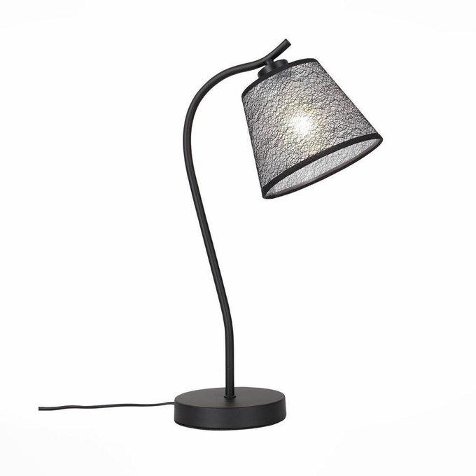 Настольная лампа ST Luce Tabella с абажуром из ткани