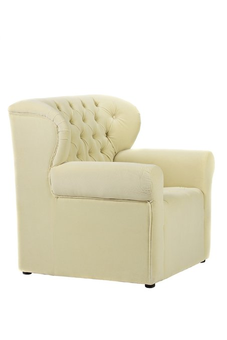 Кресло Daisy молочного цвета