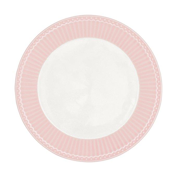 Блюдо Alice pale pink из высококачественного фарфора