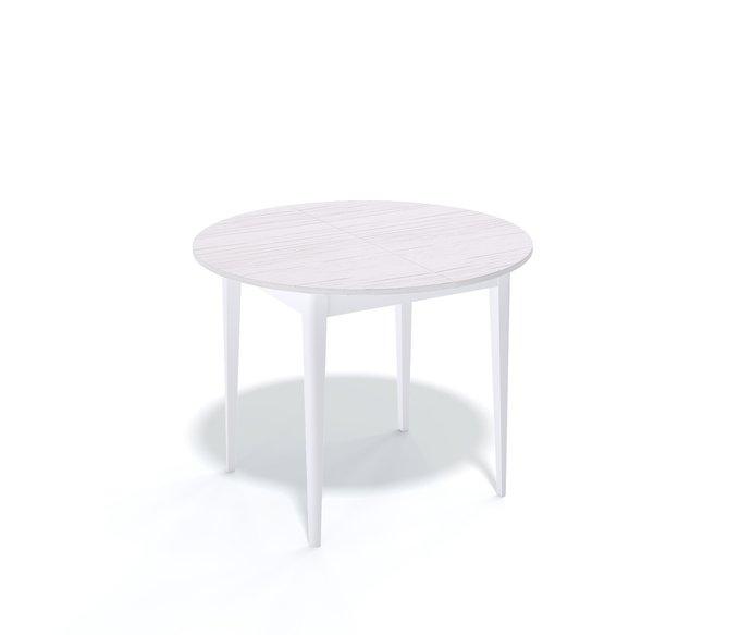 Стол обеденный Chade раскладной цвета ясень белый