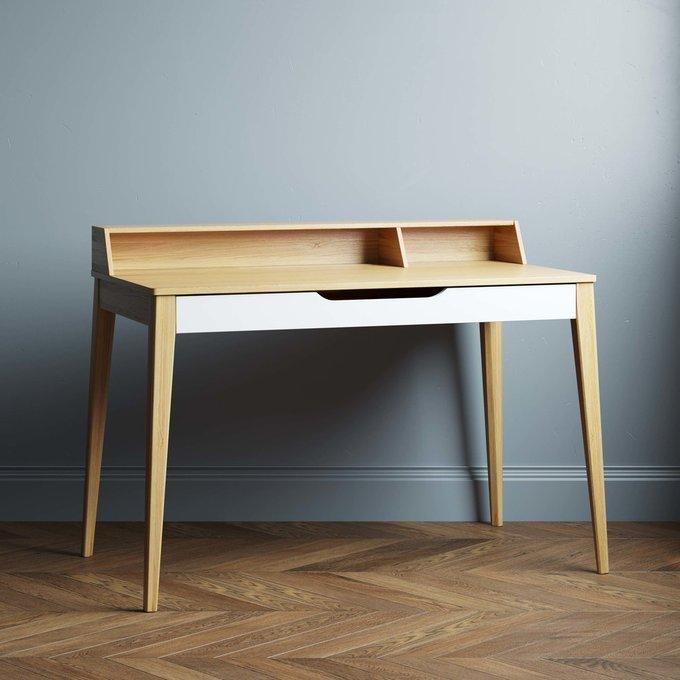 Письменный стол Buro 140х60 цвета натуральный дуб