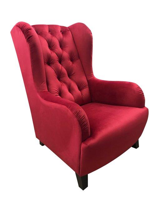 Каминное кресло Лондон со стежкой капитоне
