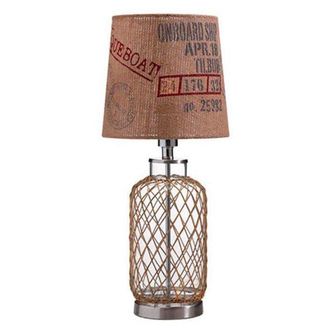 Настольная лампа Cape Horn Cargo коричневого цвета
