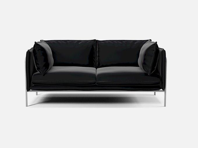 Диван-кровать Zigmund черного цвета