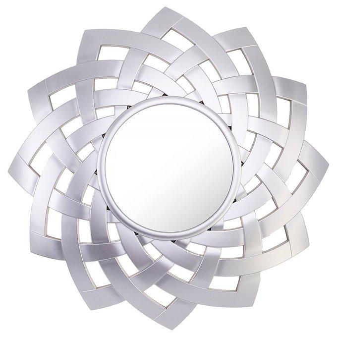 Зеркало настенное Swiss home серебристого цвета
