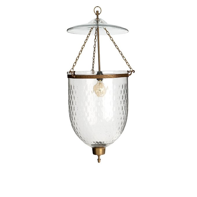 Подвесной светильник Bexley S со стеклянным плафоном