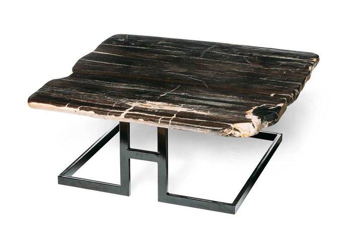 Журнальный стол Бинтау из окаменелого дерева 381104