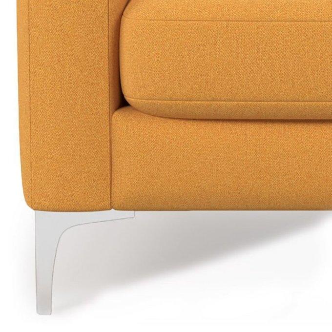 Двухместный диван Mendini ST желтого цвета