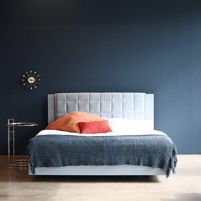 Кровать Izzy розово-бежевого цвета 180х200