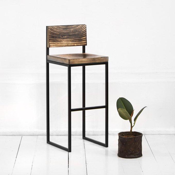 Барный стул Fullmoon в цвете жженой березы