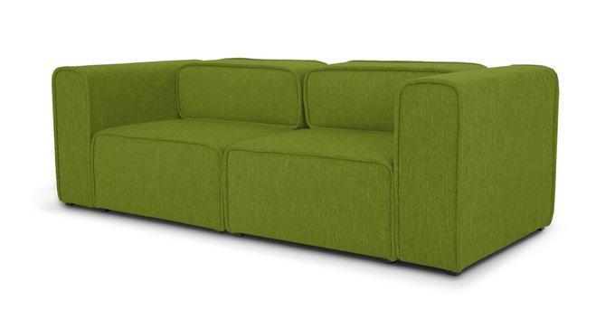 Модульный диван Метрополис L green