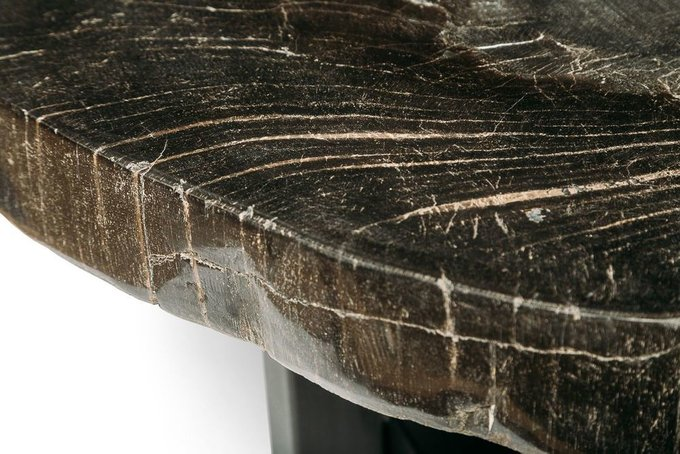 Журнальный стол Бинтау из окаменелого дерева 381084
