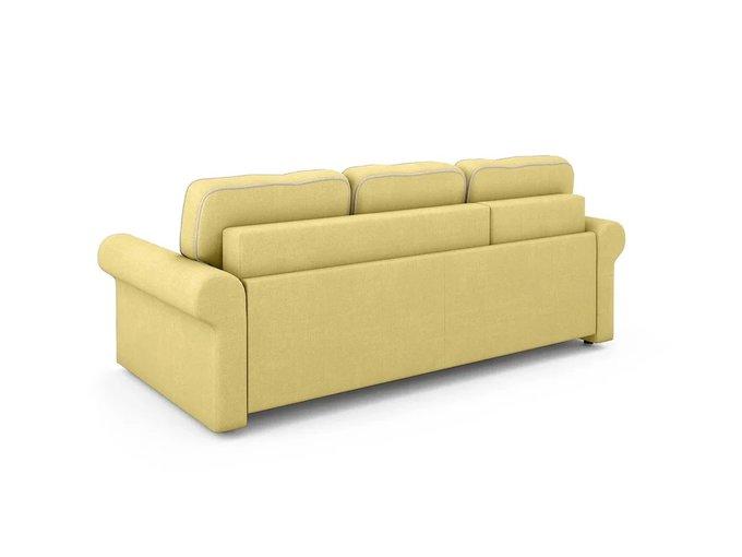 Угловой Диван-кровать Tulon левый желтого цвета