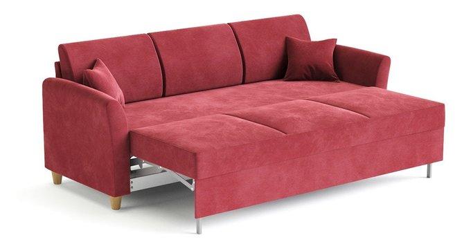 Диван-кровать Катарина красного цвета