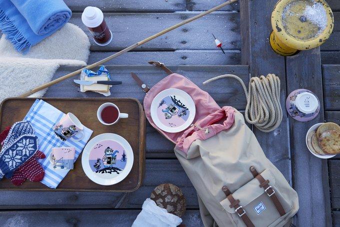 Пиала Moomin Туу-тикки лилового цвета