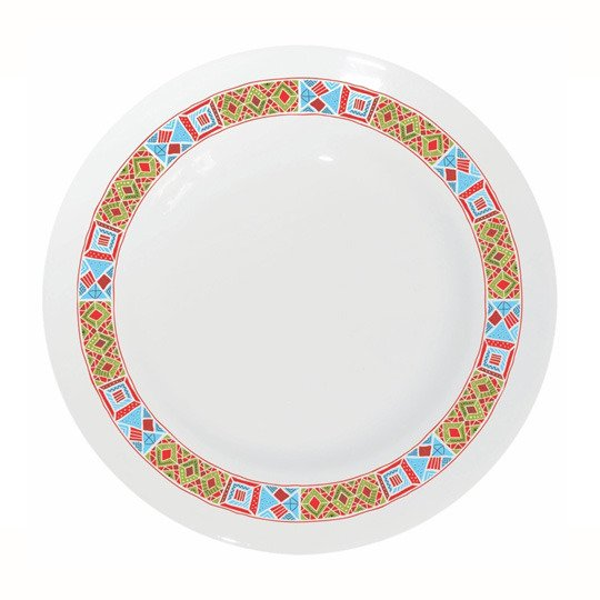 Тарелка фарфоровая 'Мишка'