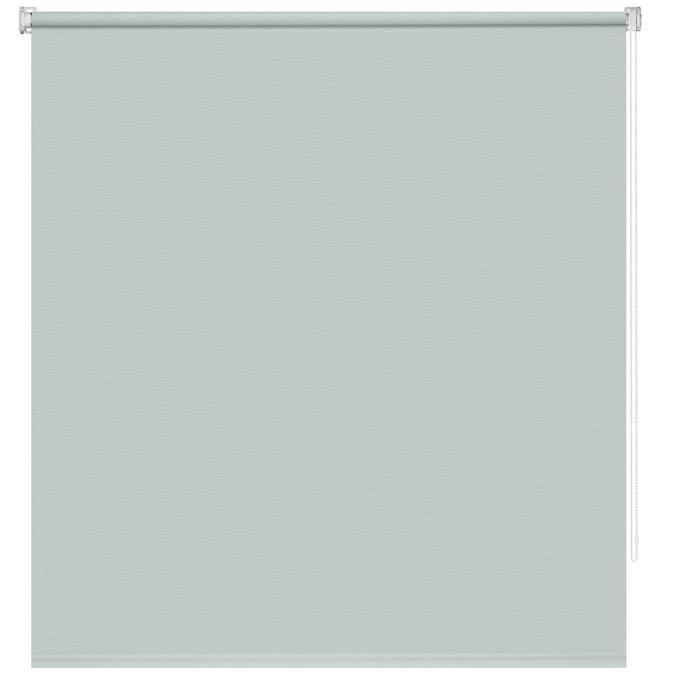 Штора рулонная Маринела Пыльная лазурь 140x175