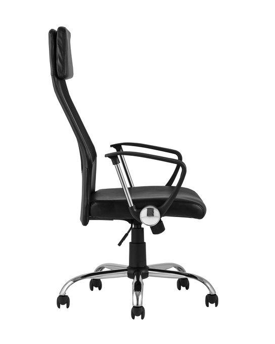 Офисное кресло Top Chairs Bonus черного цвета