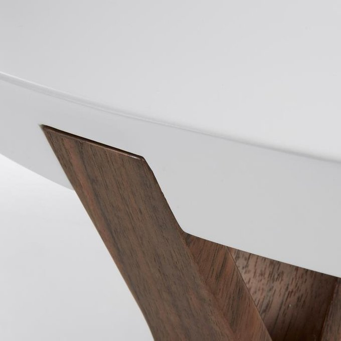 Журнальный столик Julia Grup Solid белый