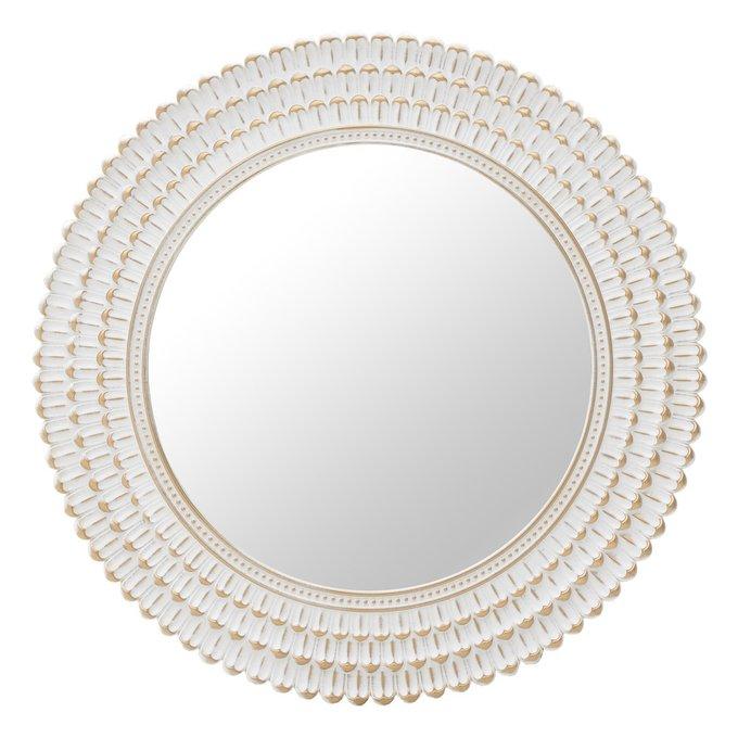 Настенное зеркало в пластиковой раме
