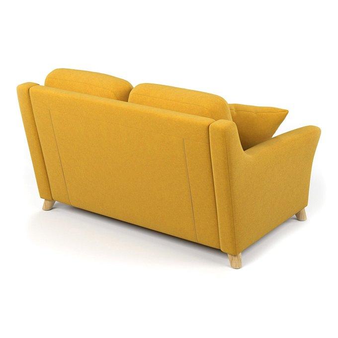 Диван двухместный Raf MT желтого цвета