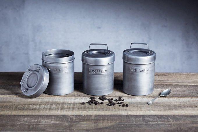 Ёмкость для хранения кофе Industrial Kitchen с потертой поверхностью