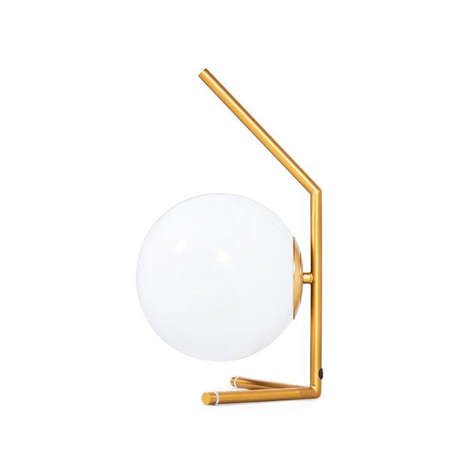 Лампа настольная IC Lights с белым плафоном