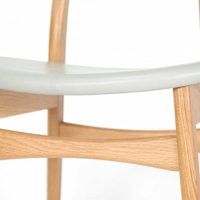 Деревянный стул Dutch белый дуб