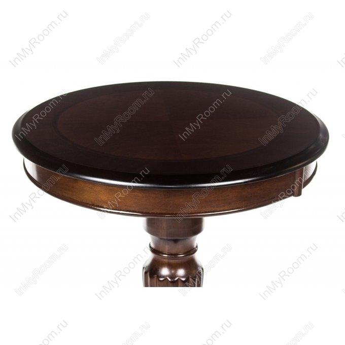 Кофейный столик Moon tobacco из массива гевеи