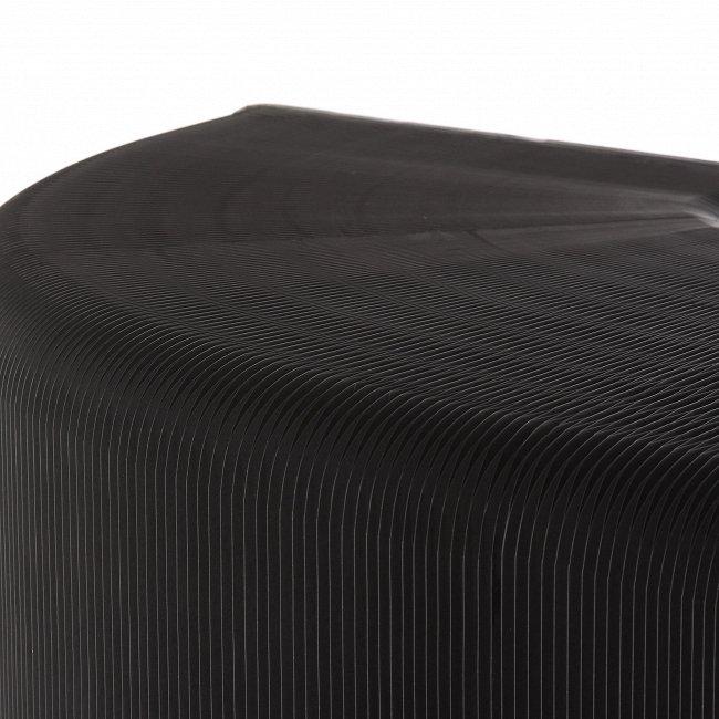Полка бумажная черная