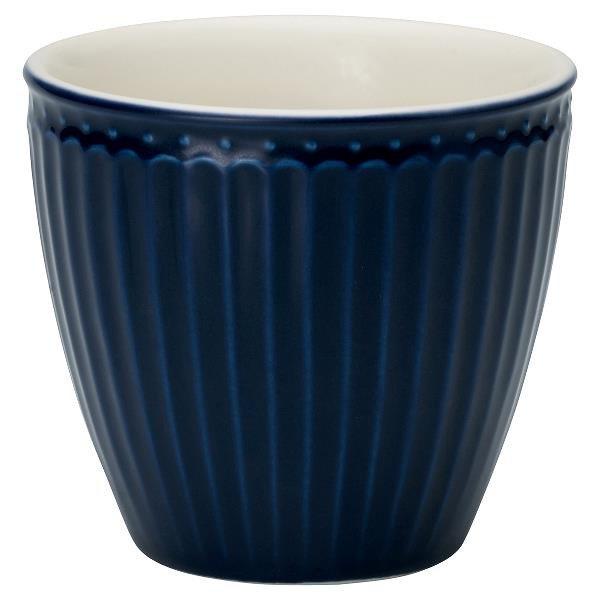 Фарфоровый стакан Alice dark blue