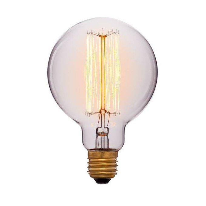 Лампа накаливания E27 60W шар прозрачный