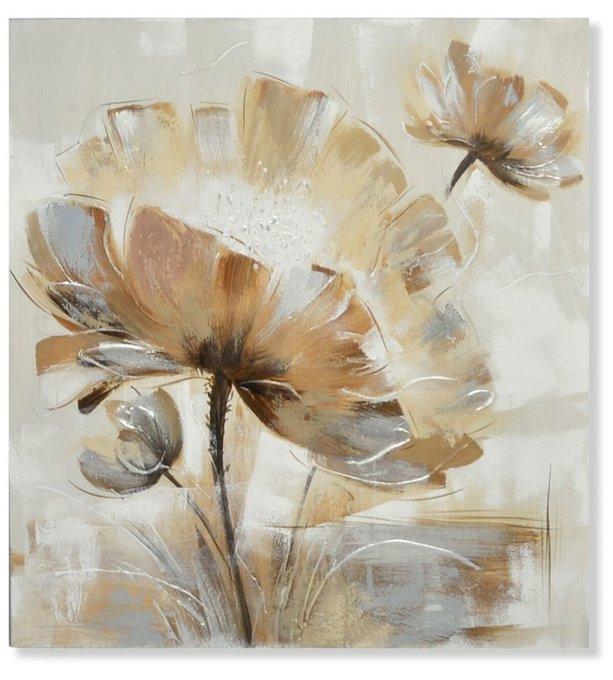 Картина Flower на холсте 80x80
