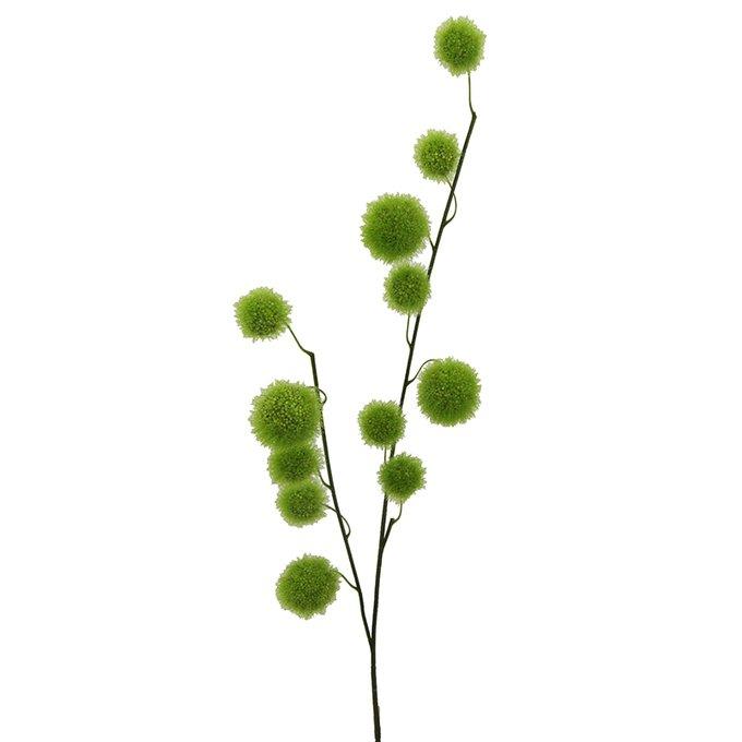 Искусственная ветвь Klettenzweig зеленого цвета