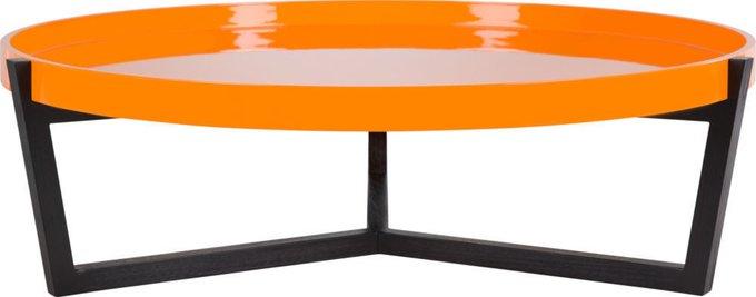 Стол журнальный  Black / Orange