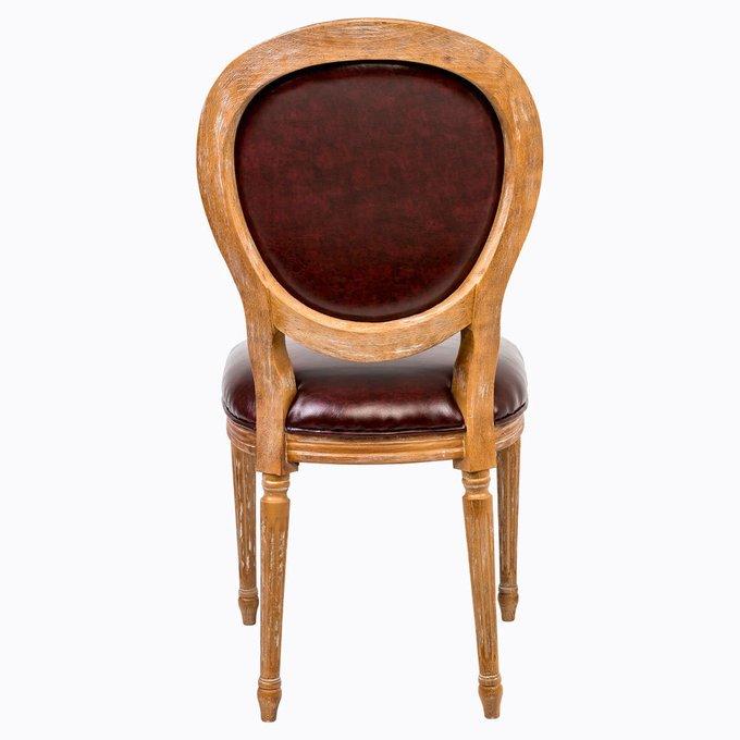 Стул Мистер Кинг с сиденьем и спинкой из экокожи