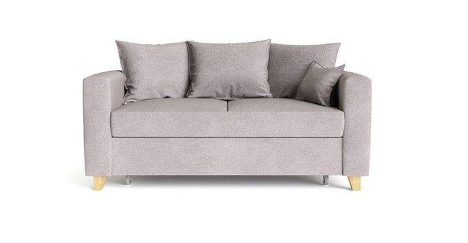 Диван-кровать Эмилио серого цвета