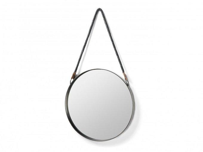 Зеркало Stiel с плетенной ручкой