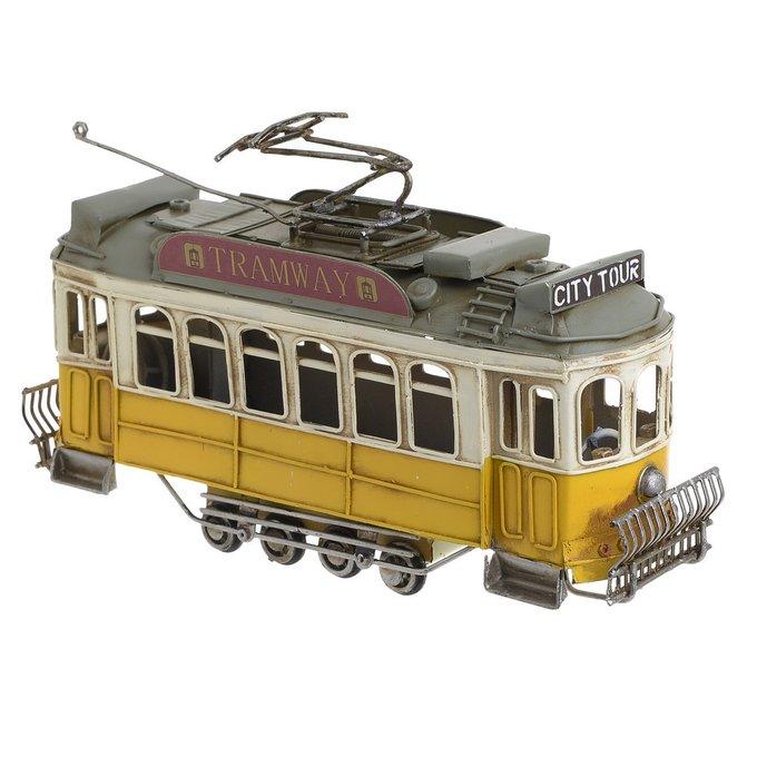 Декор настольный Трамвай из металла
