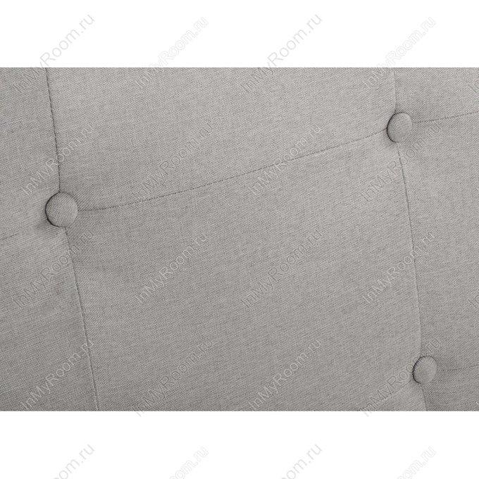 Кровать двуспальная Violet 160х200 светло-серого цвета