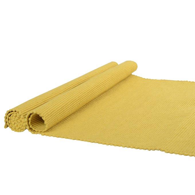 Набор салфеток под приборы горчичного цвета