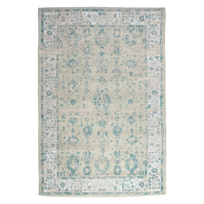 Ковер бежево-бирюзового цвета 120х180