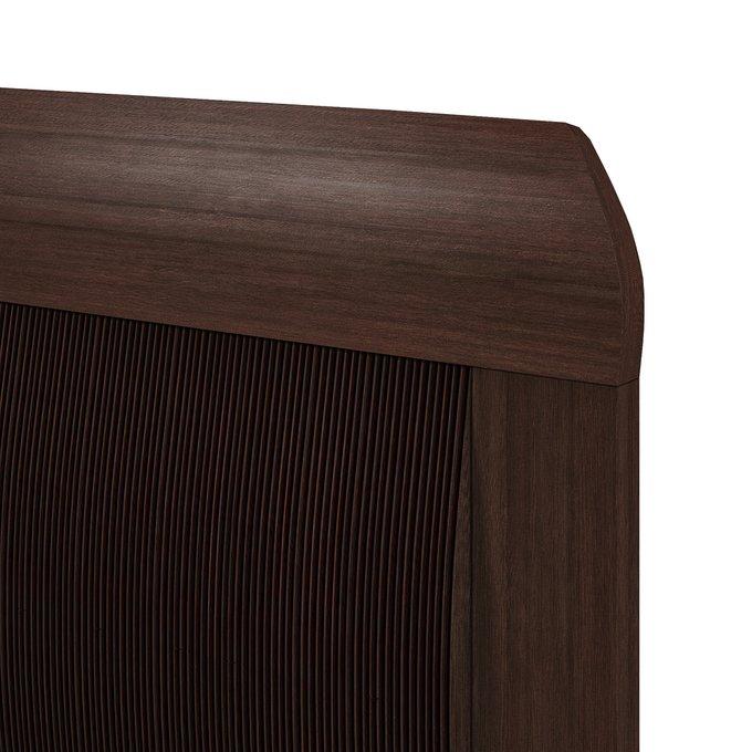 Кровать Магна 120х600 темно-коричневого цвета с подъемным механизмои