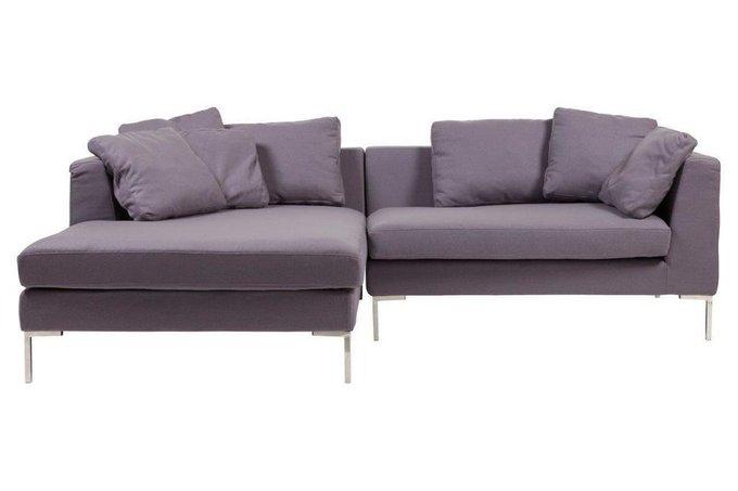 Диван Charles фиолетового цвета