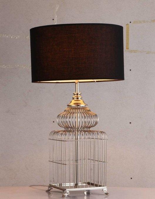 Настольная лампа Trap for Sultan с черным абажуром