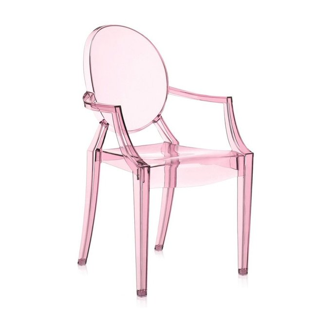 Стул детский Lou Lou Ghost розового цвета
