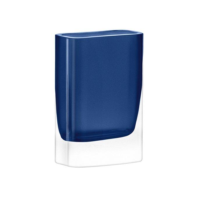 Ваза Modular синего цвета