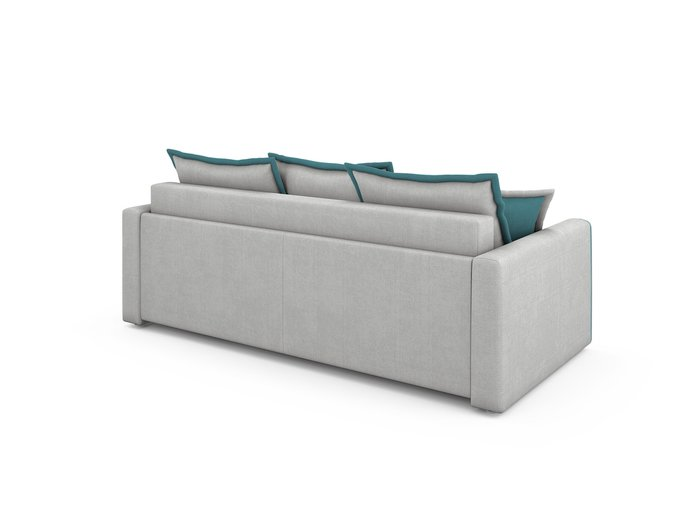 Диван-кровать Franz светло-серого цвета