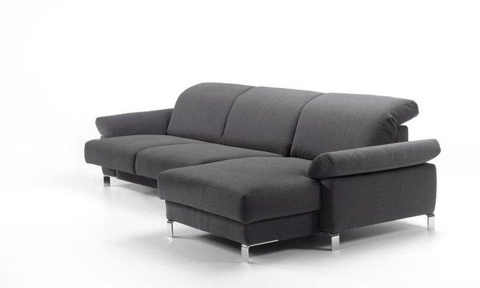 Угловой диван-кровать Helena темно-серого цвета
